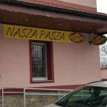 Nasza Pasza Kaseton reklamowy tablica Wrocław