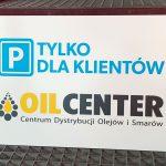 OilCenter Tabliczka parkingowa