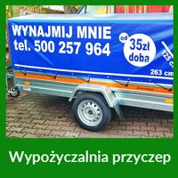 Wypożyczalnia przyczep Wrocław
