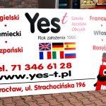 Yes tablica reklamowa